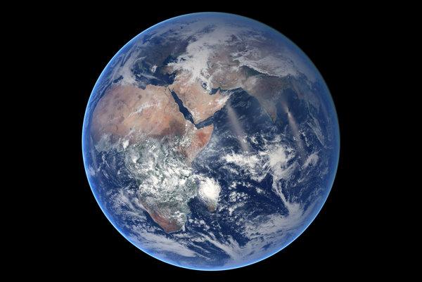 Naša planéta z kozmu.