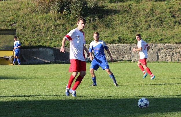 Snímka zo zápasu Horná Ves - Veľká Lehota.