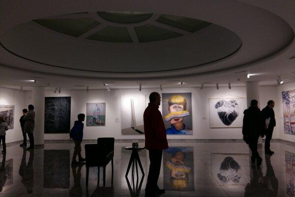 Finalisti súťaže Maľba roka sú zatiaľ vystavení v galérii Nedbalka v Bratislave.