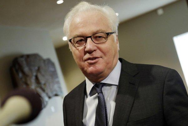 Zosnulý ruský diplomat pri OSN Vitalij Čurkin.