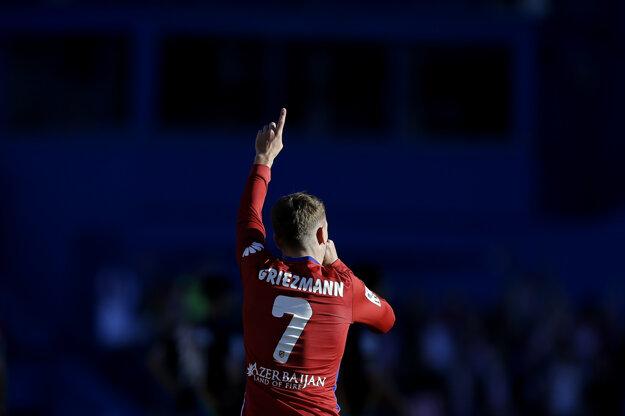 Úlohu spasiteľa Atlética Madrid na seba zobral Antoine Griezmann.