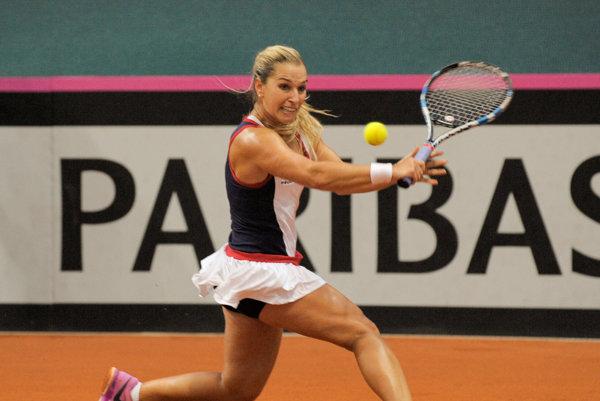 Dominika Cibulková vyhrala po dnešku nad Radwaňskou štyri z doterajších 11 vzájomných meraní síl.