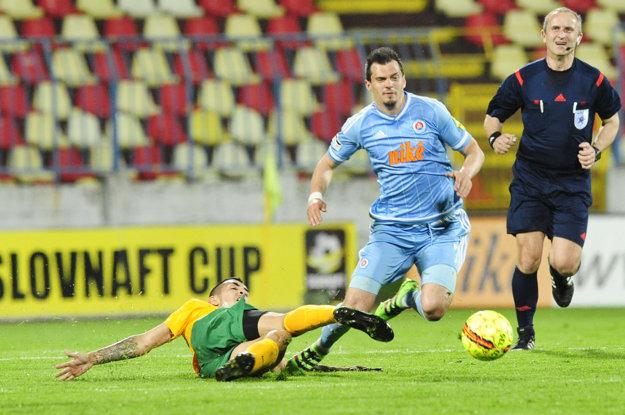 Slovan sa stretne so Žilinou už piaty raz v tejto sezóne.