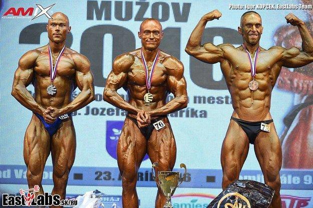 Matej Nociar zvíťazil v kategórii mužov do 180 cm.