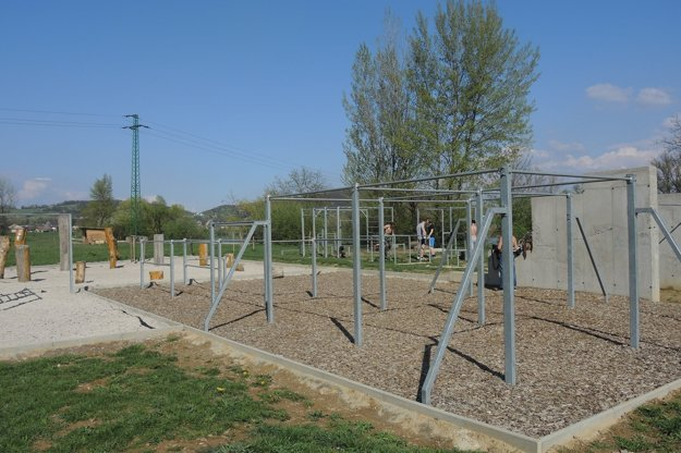 Park je i miestom konania súťaží.