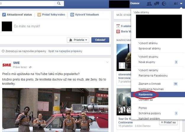 Návod na dvojfaktorové zabezpečenie Facebooku.
