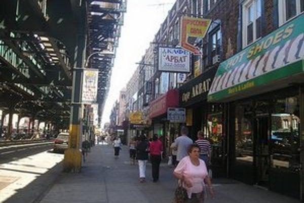 USA a ZSSR spolu v jednej štvrti. To je Malá Oddesa v newyorskom Brooklyne.