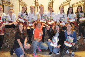 Dievčatá robia dobré meno mestu Čadca po celom Slovensku.