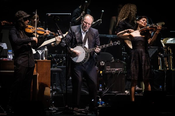 """""""Som ako každý malý chlapec, rád robím hluk,"""" hovoril počas bratislavského koncertu slávny hollywoodsky skladateľ Hans Zimmer."""