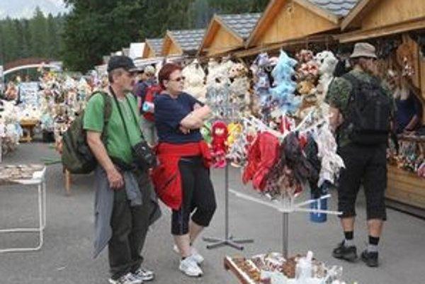 Počet zahraničných návštevníkov stúpol oproti minulému roku o desať percent.
