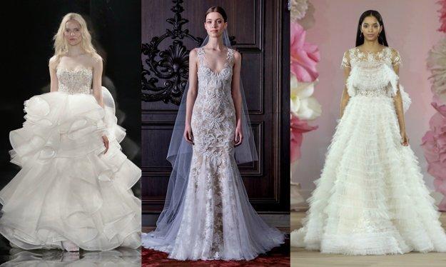 6defc6a9678f Svadobné šaty  Toto je päť aktuálnych trendov pre jar a leto 2016 ...