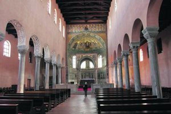 Eufráziova bazilika.