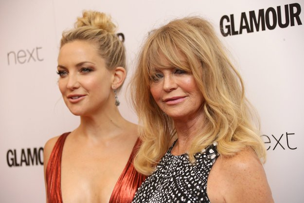 Kate Hudson a Goldie Hawn.