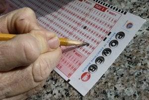 Tiket k lotérii Powerball.