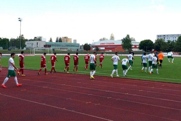 Nové Mesto nad Váhom prehralo s Banskou Bystricou 1:3.
