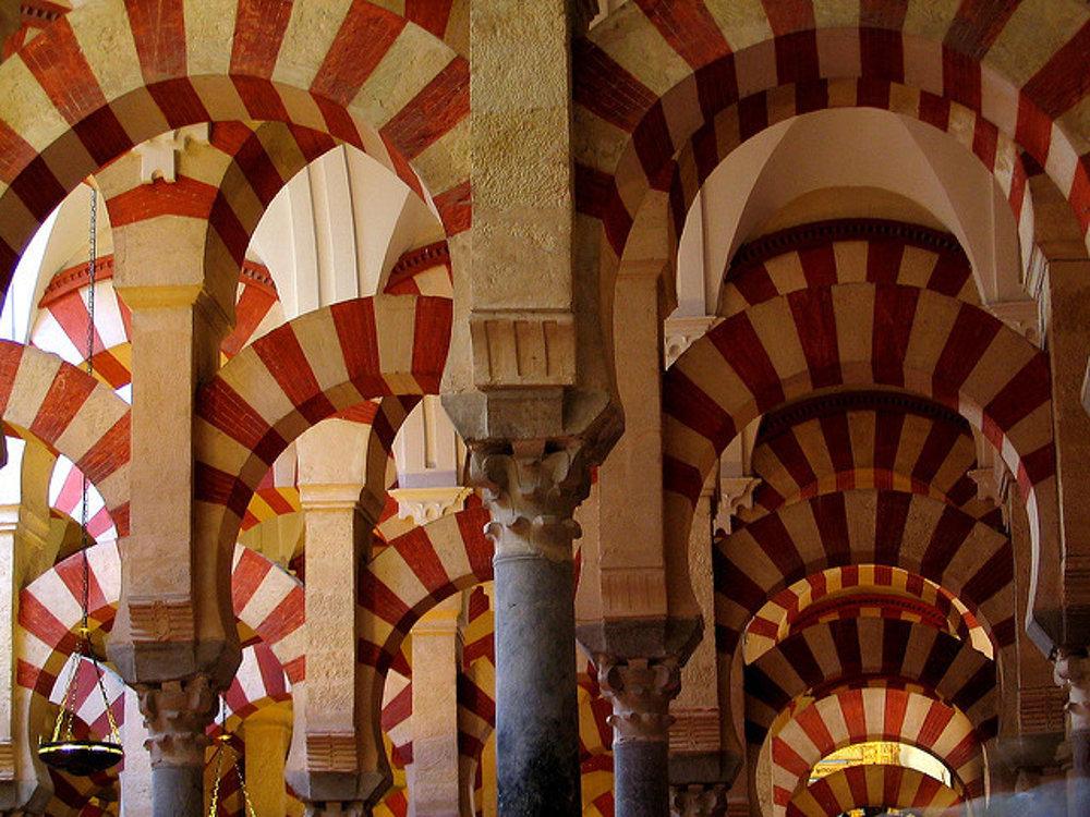 Mešita-katedrála v Cordobe.