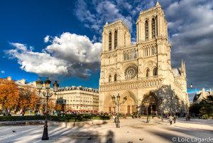 Parížska katedrála Notre Dame.