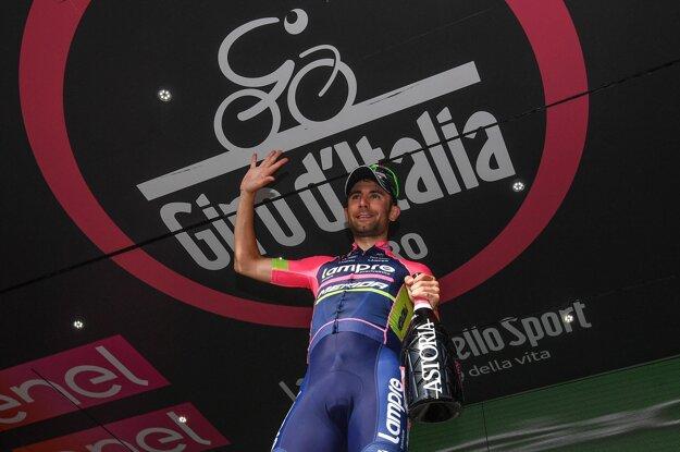 Diego Ulissi sa tešil z víťazstva aj vo štvrtej etape.