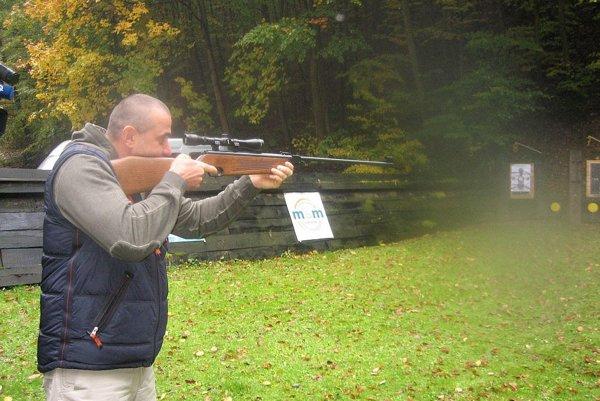 Streľbou zo vzduchovky naštartoval kariéru aj reprezentant v dynamickej streľbe Ján Pavlík.
