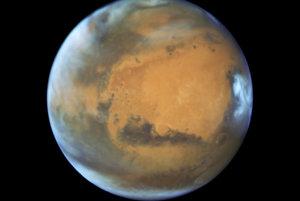 Nový portrét Marsu vytvoril Hubblov vesmírny ďalekohľad.