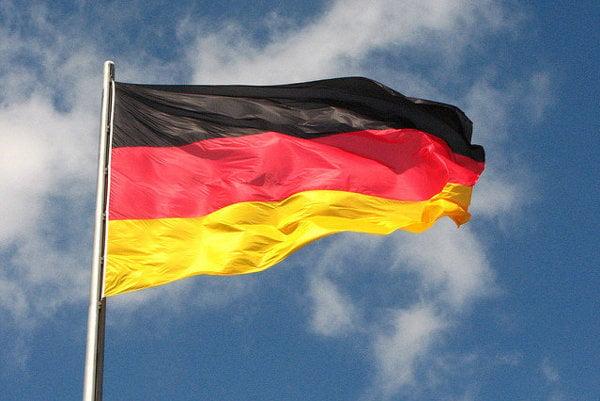 Nemecká trikolóra.