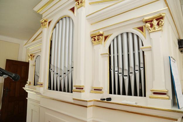 Organ v Čavoji.