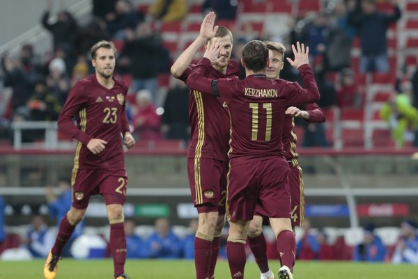 Ruskí futbalisti nastúpia na EURE aj proti Slovákom.