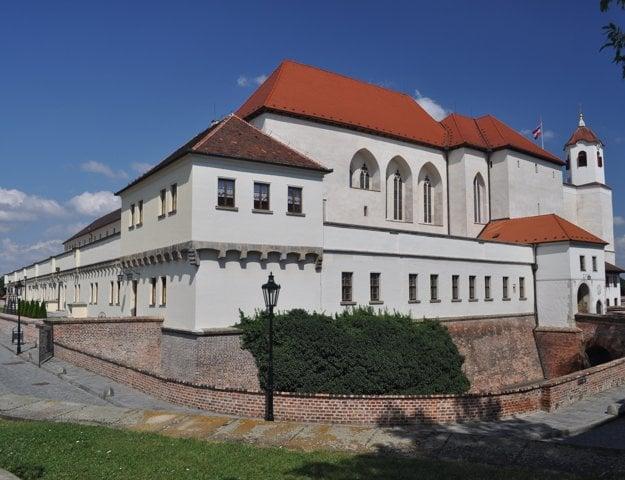 Hrad Špilberk v Brne.