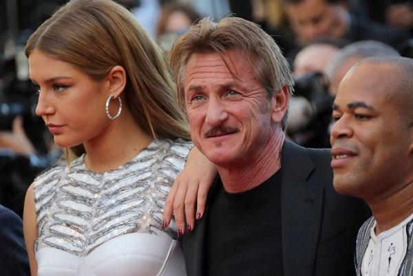 Sean Penn s herečkou Adèle Exarchopoulos.