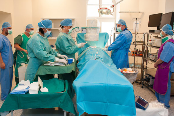 Nové kardiocentrum v rimavskosobotskej nemocnici.