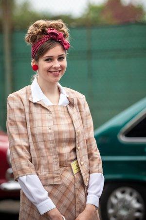 Prvé miesto za dobové oblečenie získala Nikoleta Atalovičová.