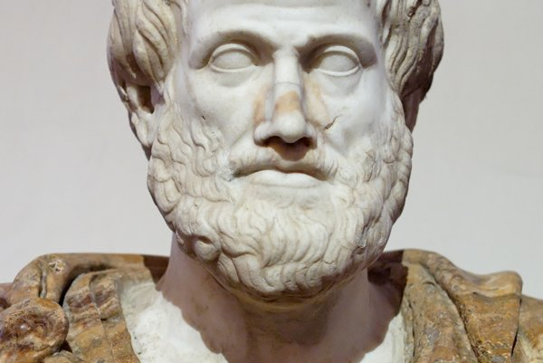 Aristotelova busta.