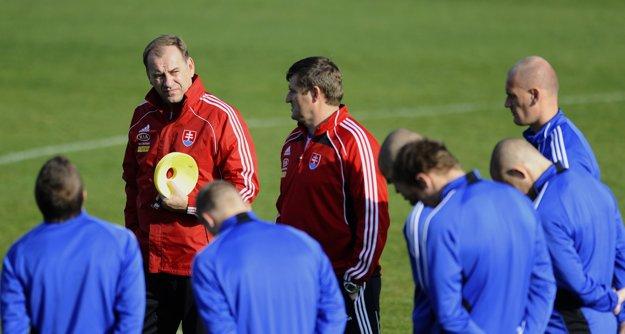 Aj mnoho hráčov zo súčasného tímu Vladimír Weiss v minulosti viedol.
