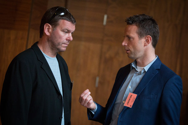 Jozef Stümpel a Richard Lintner.