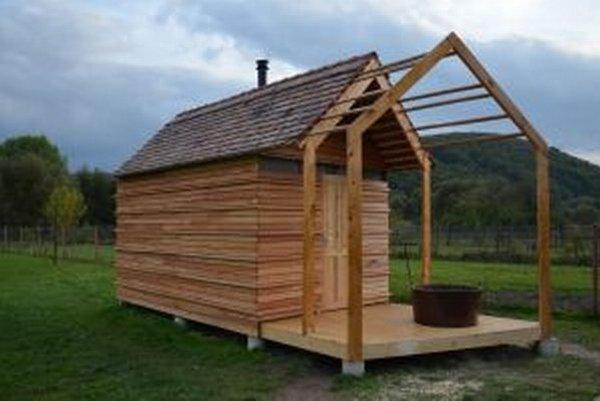 Dedinská sauna.