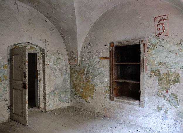 Takto vyzerali izby rehoľníkov.