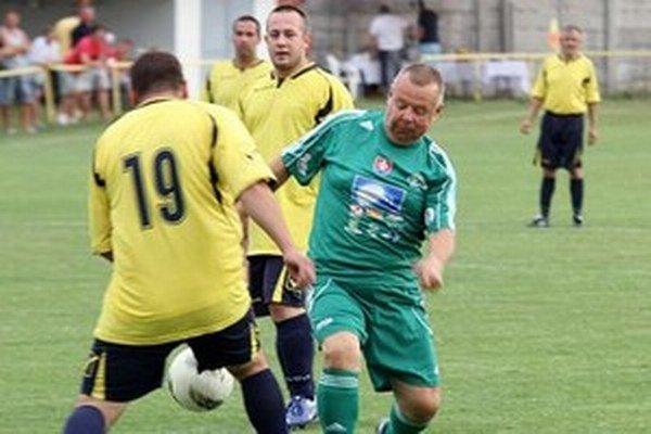 Ivan Vojtek, alias Tuli, vo farbách futbalového tímu MUFUZA.