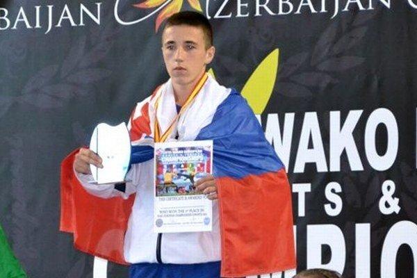 Šampión Ondrej Franek.