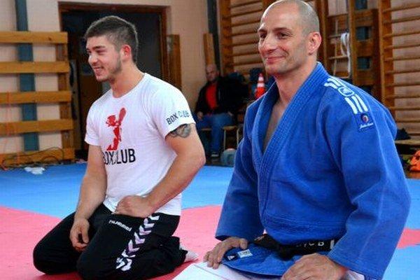Ich mená sa spájajú s reprezentáciou našej krajiny - boxerista Robo Rácz (vľavo) a džudista Robo Rác.