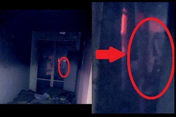 Skupine sa v internáte podarilo zachytiť na fotke neznáme dievča.