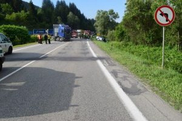 Na ceste I/11 sa dnes ráno okolo šiestej hodiny stala dopravná nehoda.