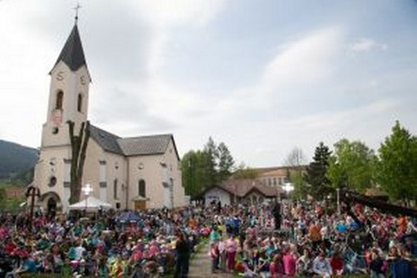 Misijná púťDo Rajeckej Lesnej zavítalo takmer 2000 detí.