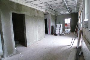 Výstavba klientskeho centra na Okresnom úrade v Tvrdošíne.