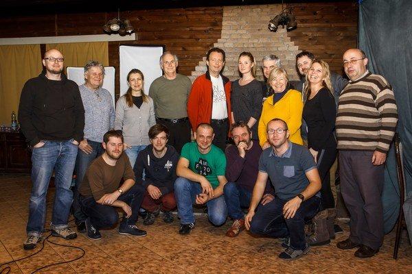 Účastníci fotografického workshopu.