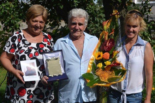 Milovník divadla Alfonz Hruška oslávil 75. narodeniny.
