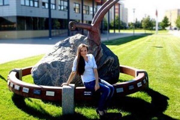 Študentka zo Santovky dočasne vymenila školu v Nitre za univerzitu v Litve.