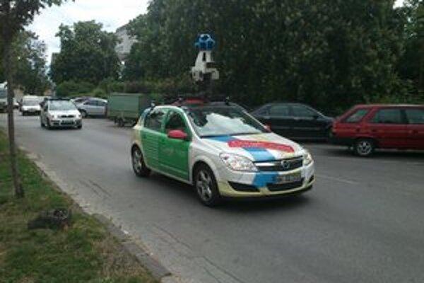 Google auto sa minulý týždeň pohybovalo v Leviciach.