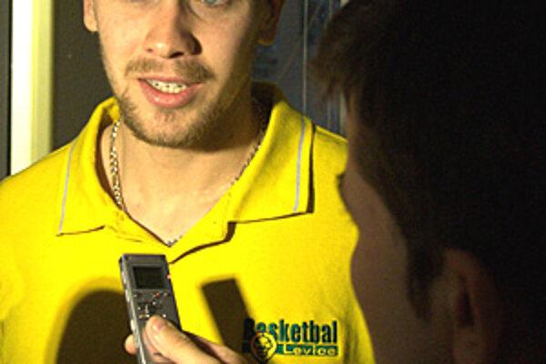Levický rozohrávač Tadej Koštomaj je pred posledným zápasom sezóny plný odhodlania.