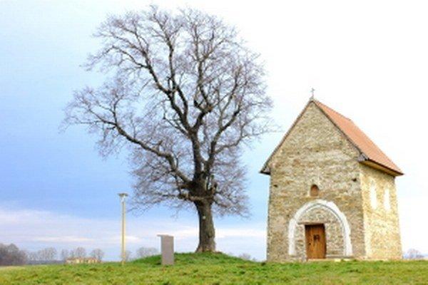 Kostolík sv. Margity Antiochijskej v Kopčanoch.