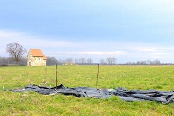 Územie pri kostolíku sv. Margity, pamiatky z čias Veľkej Moravy.
